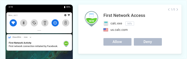 First network access